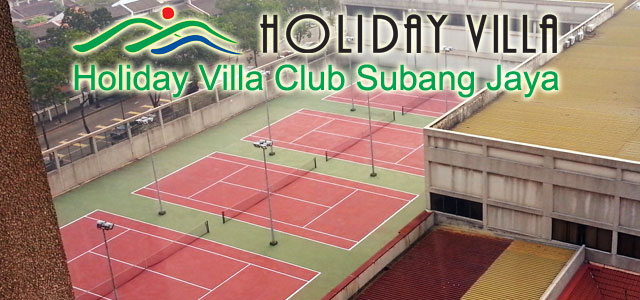 Tennis Playground - Holiday Villa Club Subang